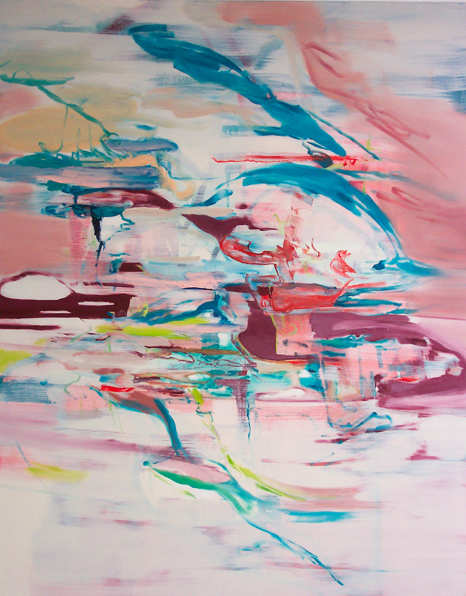 Untitled (white)  2006  oil on canvas  190 x 150 cm