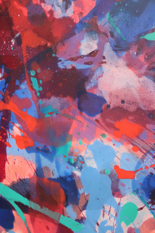 Distemper Composition IV  detail