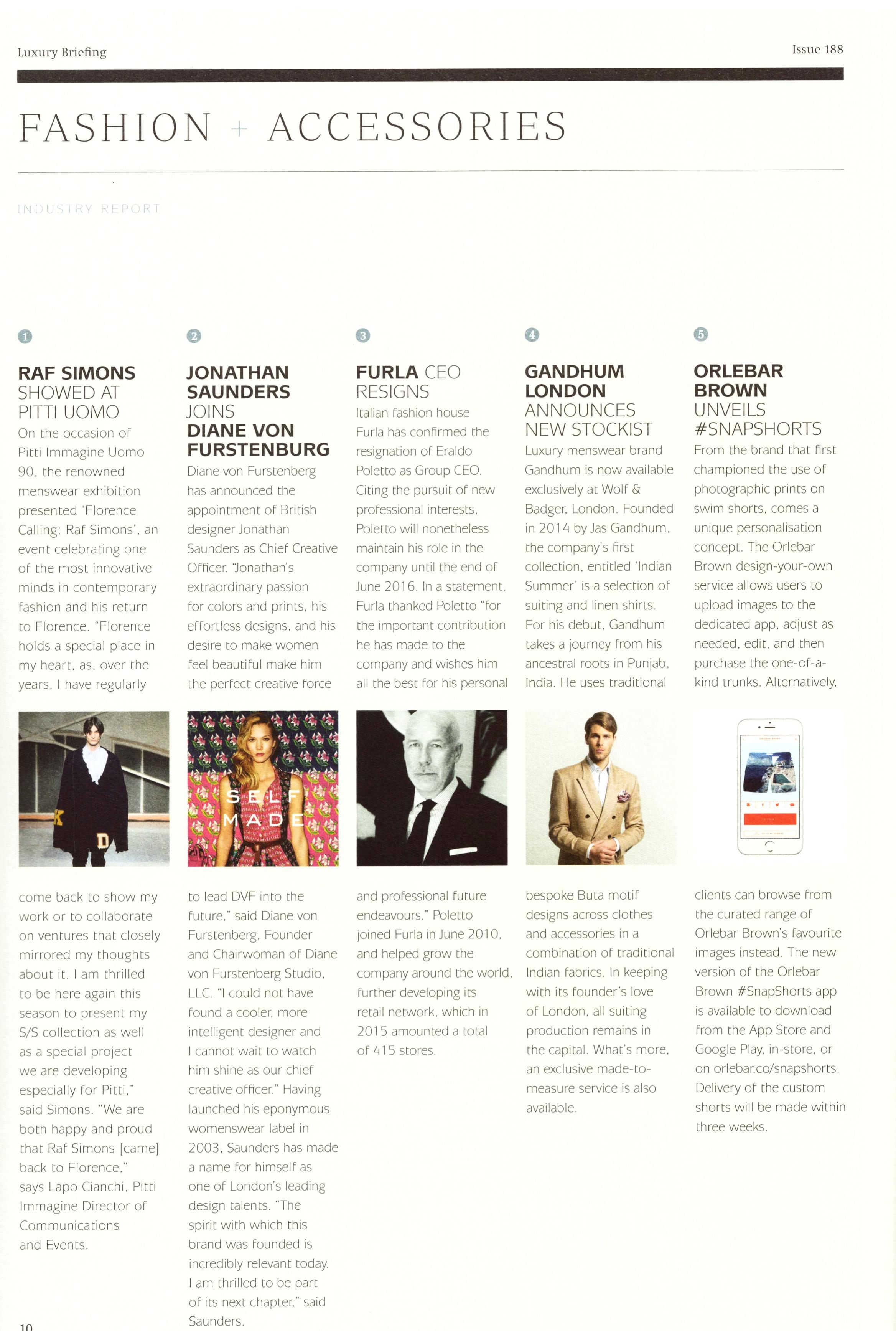 Luxury Briefing - Issue 188