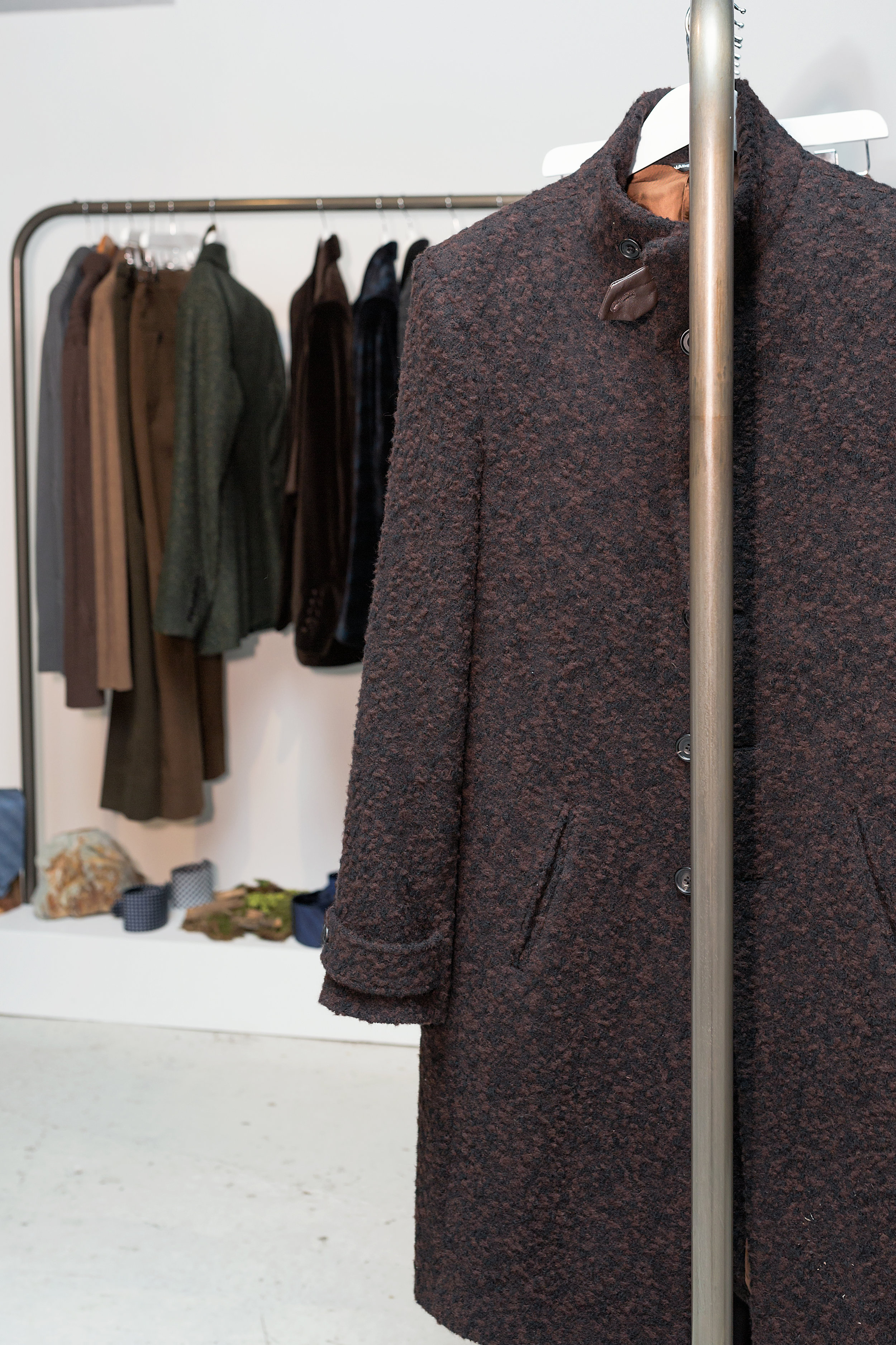 AW17 collection on show at London Fashion Week Mens Designer Showrooms -Jan 2017