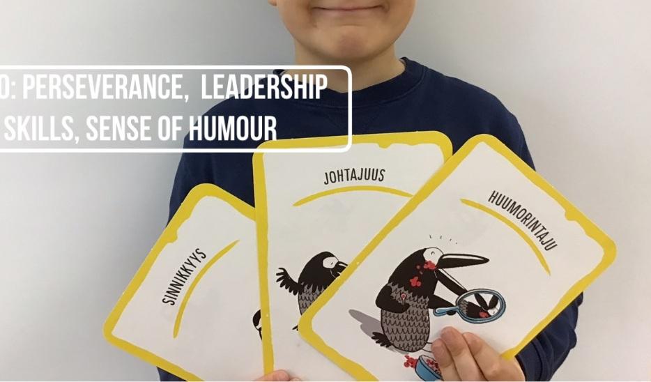 Perseverance, Leadership Skills, Sense of Humour