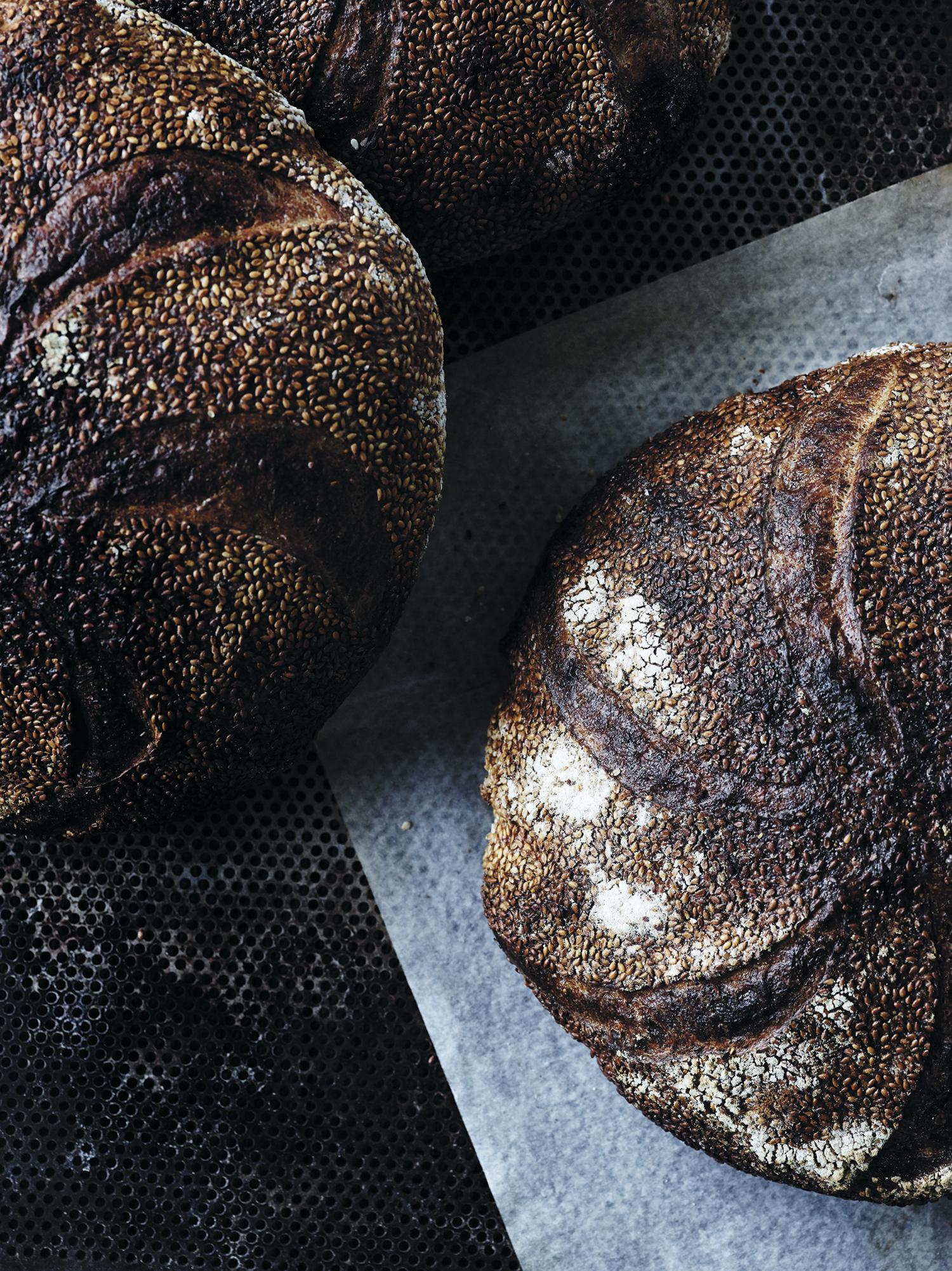 Grantoftegård-brød med sesam