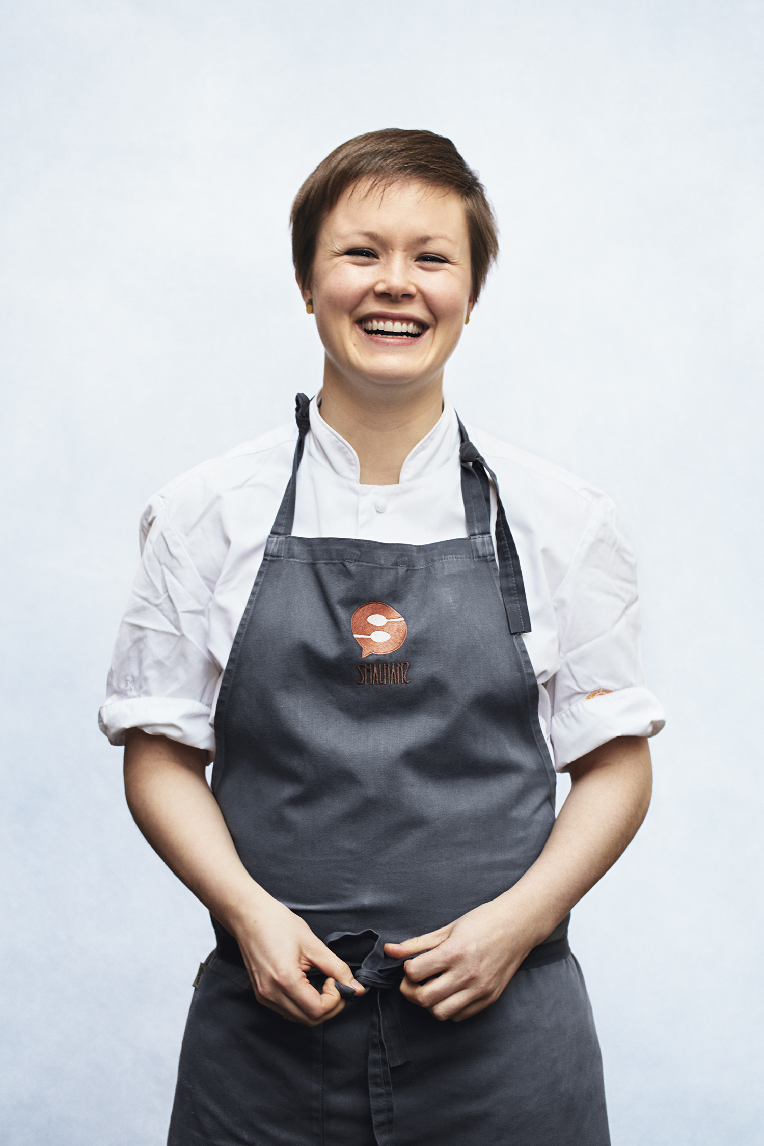 Karla Siverts, kjøkkensjef på Smalhans.