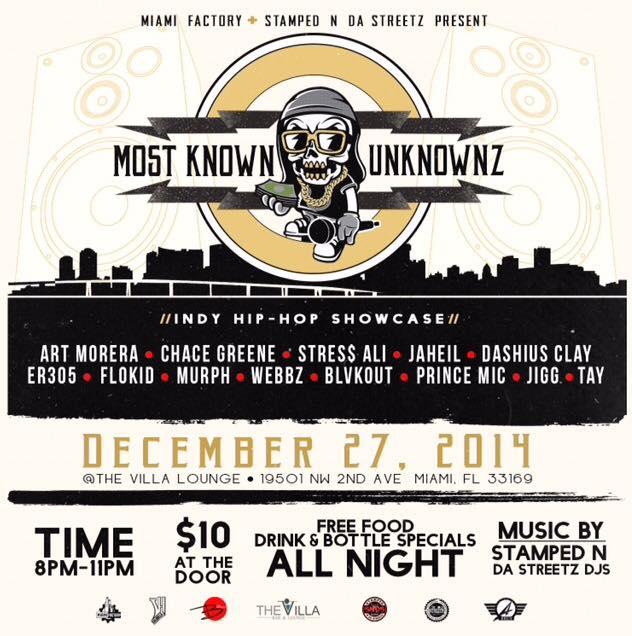 Most Known Unknownz Showcase