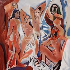 Picasso's  Les Demoiselles d'Avignon , 1907