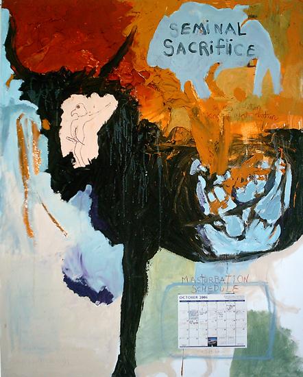 Christopher Hall,  Seminal Sacrifice , 2007