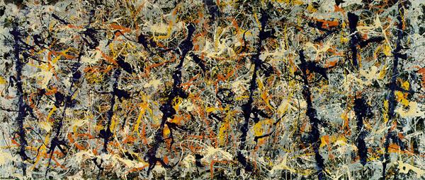 Jackson Pollock,  No. 11 (Blue Poles) , 1952