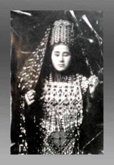 Crimean Tatar lady.