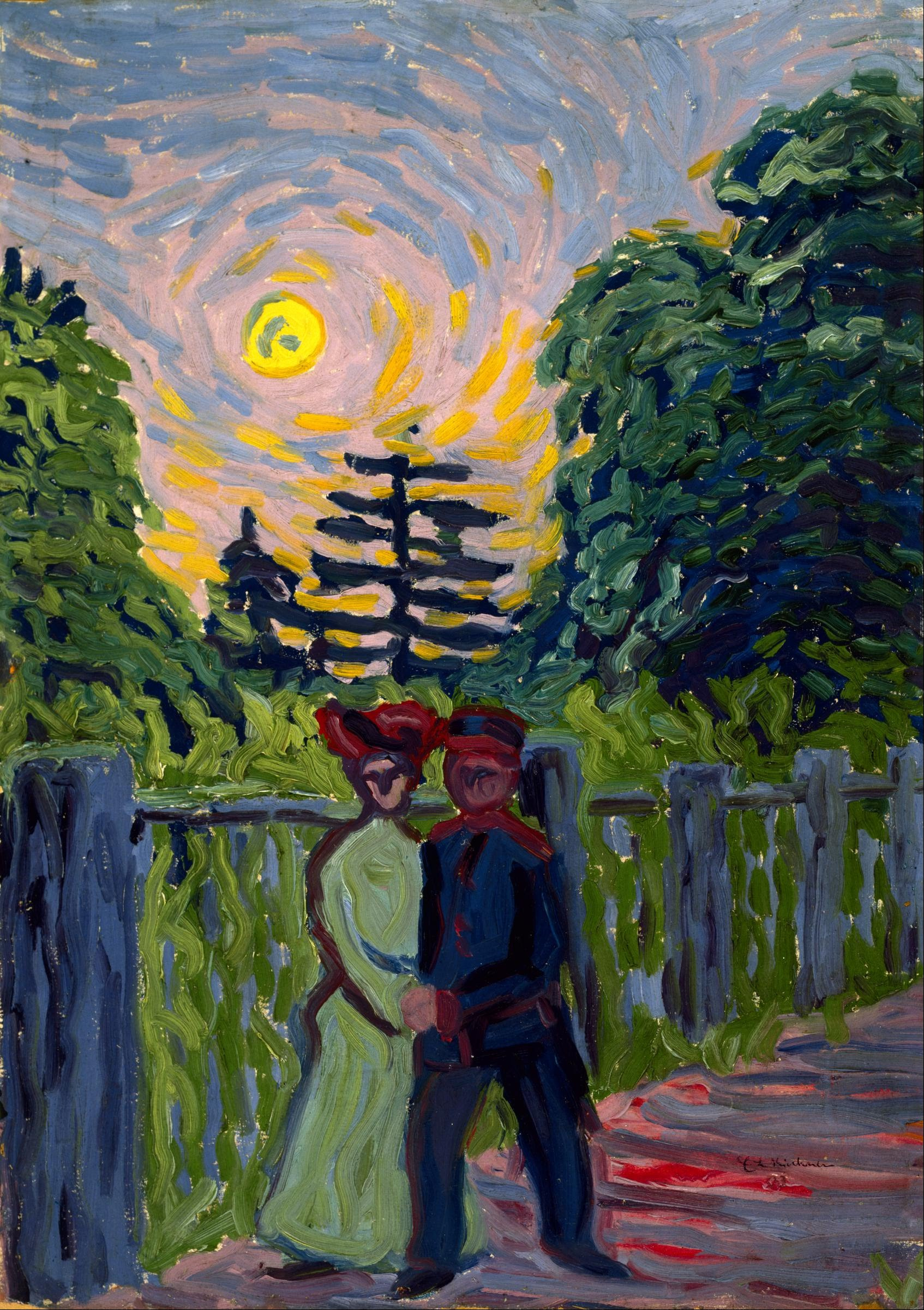 Ernst_Ludwig_Kirchner_-_Moonrise-_Soldier_and_Maiden.jpg