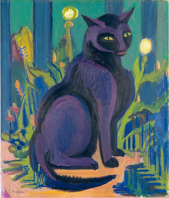 Kirchner black cat 1926.jpg