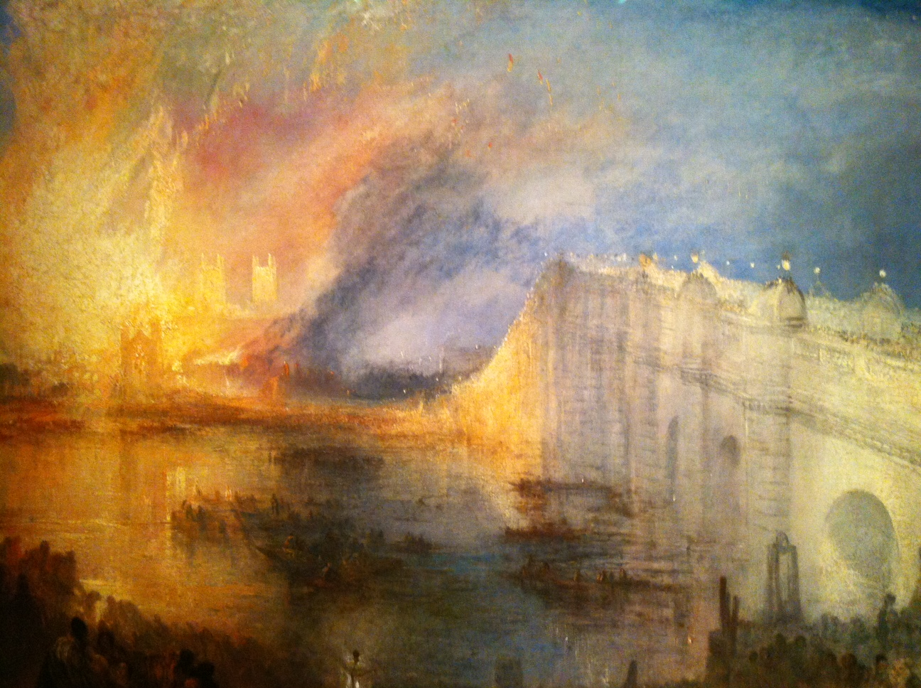 The Burning of the House of Parliament,  1834