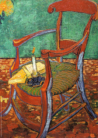 Gauguin's Chair with Books and Candle, 1888