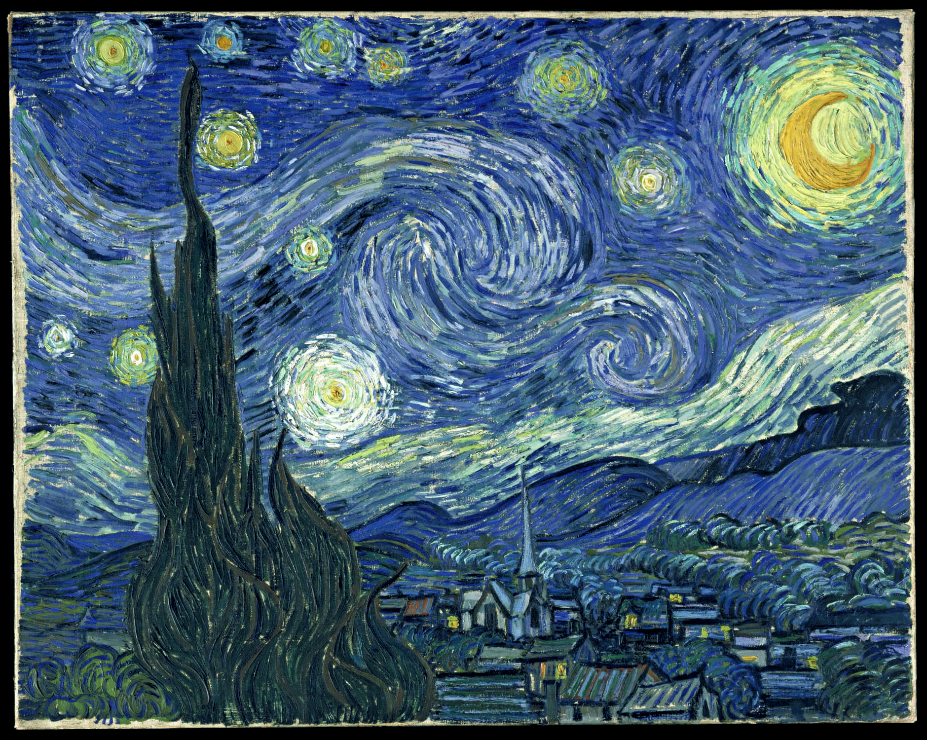 Starry Night , 1889