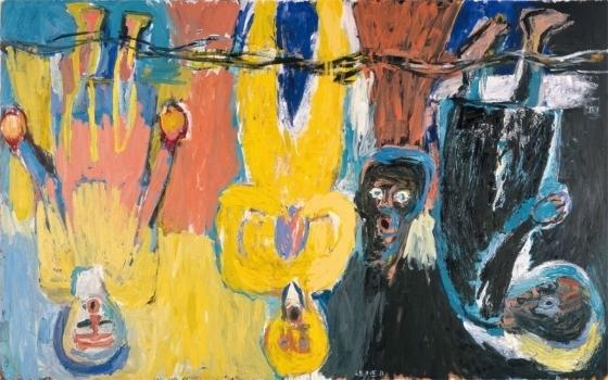 Georg Baselitz,  The Brucke Chorus , 1983