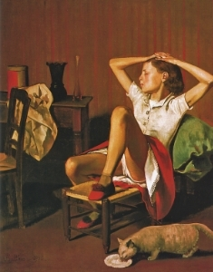 Balthus,  Therese Dreaming , 1933