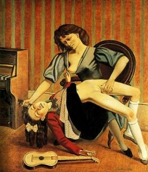 Balthus,  The Guitar Lesson , 1934