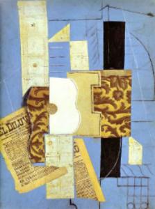 Pablo Picasso,  Guitar , 1913