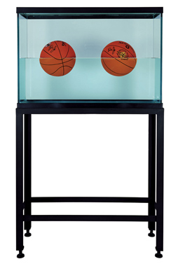 Two Ball 50-50 Tank (Spalding Dr. J Silver Series, Spalding Dr. J 241 Series) , 1985