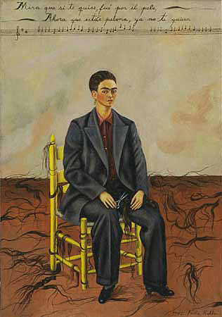 Self Portrait with Cropped Hair , 1940