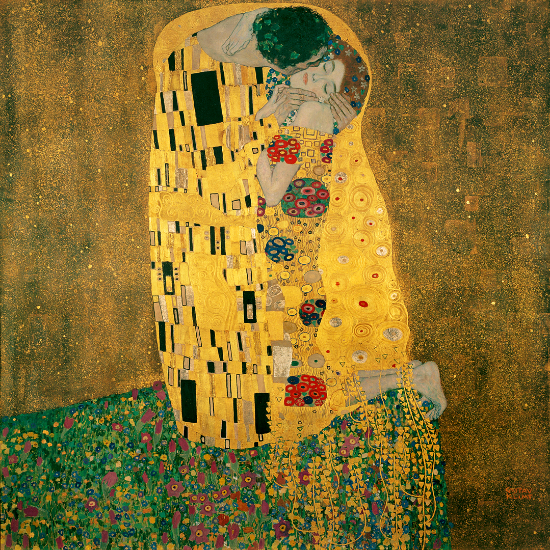 7 Gustav_Klimt the kiss.jpg