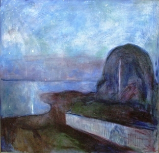 Edvard Munch,  Starry Night , 1893