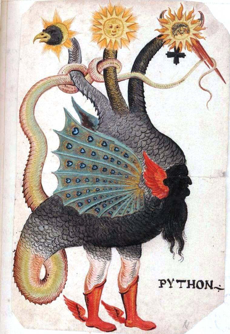 Alchemy Monster-Python-Mercurius-as-three-headed-dragon 2.jpg