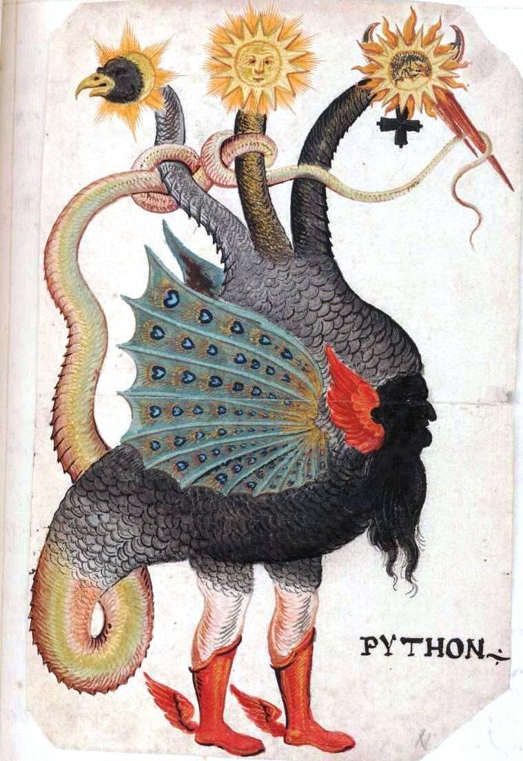 Alchemy Monster-Python-Mercurius-as-three-headed-dragon 2.jpg