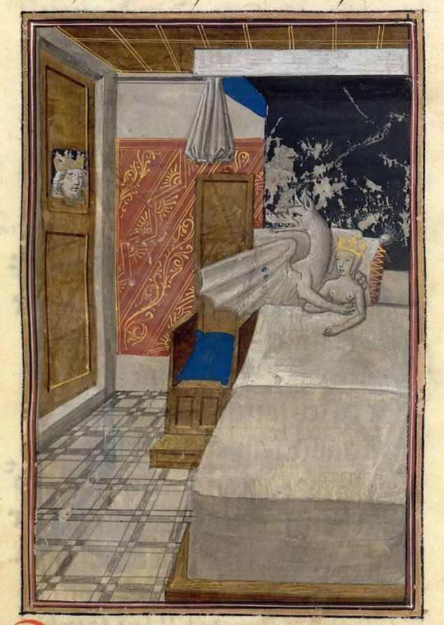lovers (dragon and lady) caught in bed.jpg