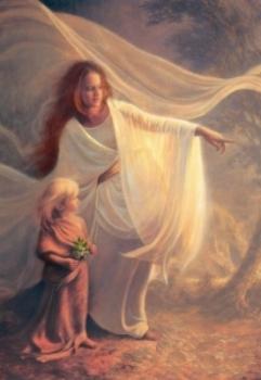 The Roman goddess Strenia.