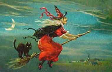 La Befana, the Christmas Witch.