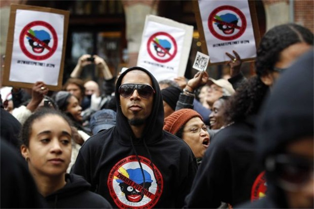 Zwarte Piet Black Pete Protest in Amsterdam.jpg