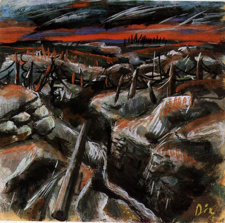 Trenches , 1917