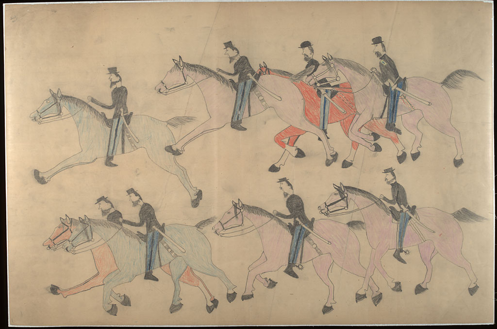 Battle of Little Bighorn by Red Horse