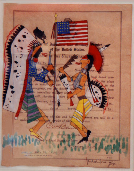 Ledger Art by Michael Horse