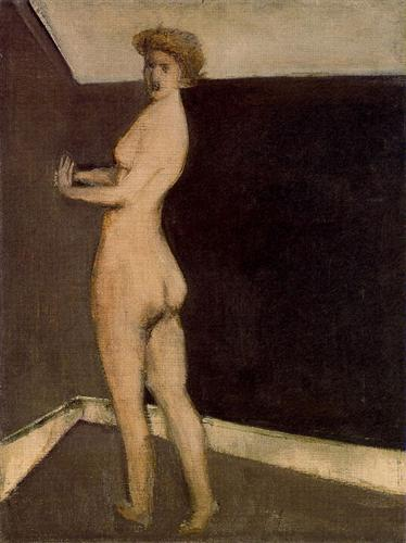 Untitled (Nude Figure)