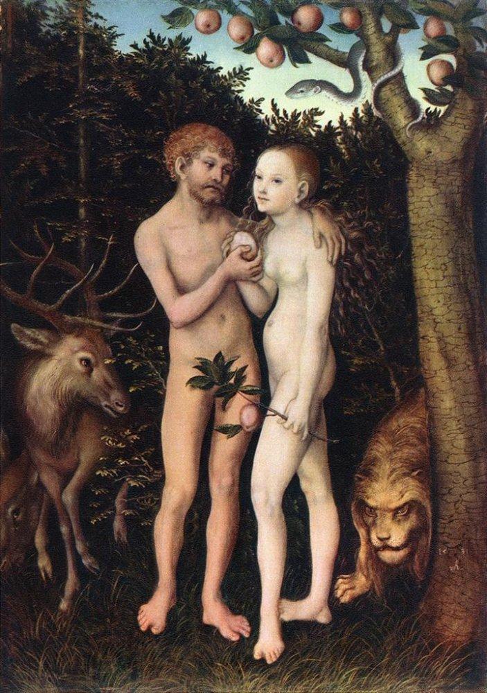Adam and Eve, 1533