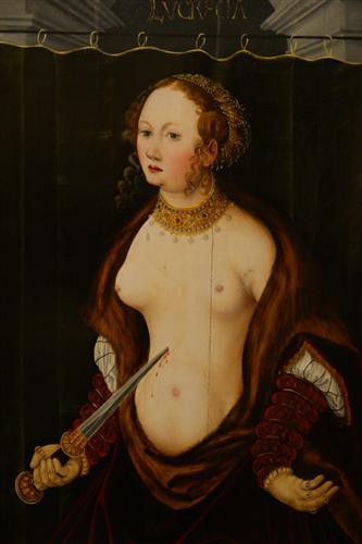Lucretia Committing Suicide, c 1550