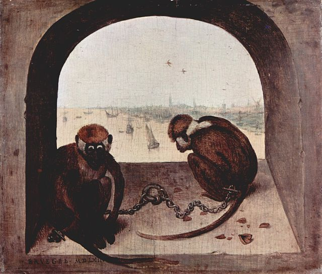 Two Monkeys, 1562