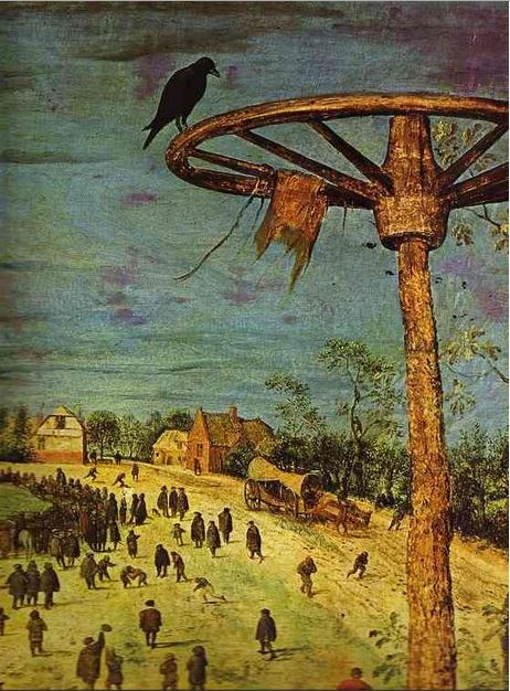 The Procession to Calvary (detail), 1564