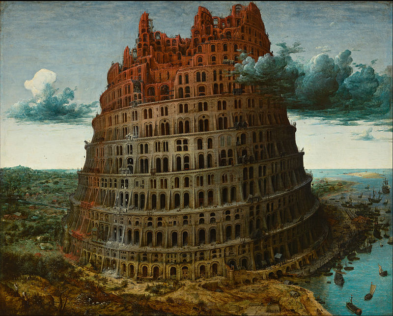 The Tower of Babel, 1565