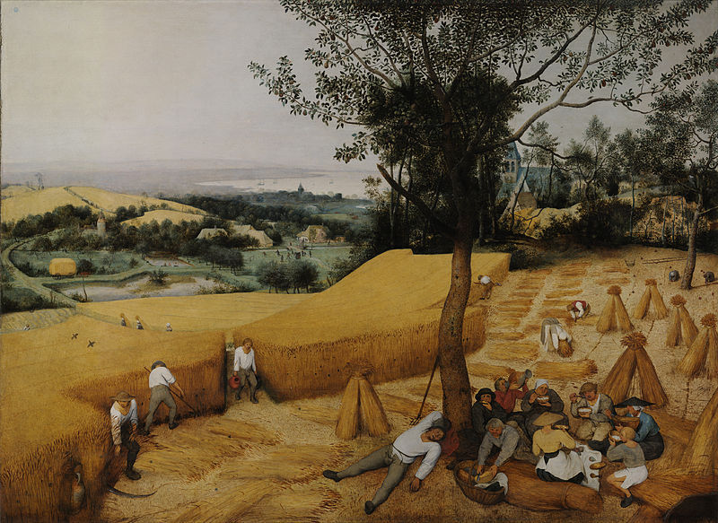 The Harvesters, 1565