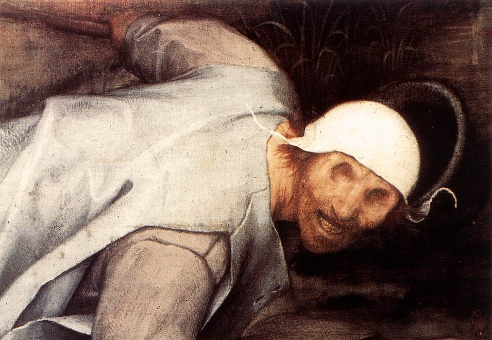 The Blind Leading the Blind (detail), 1568