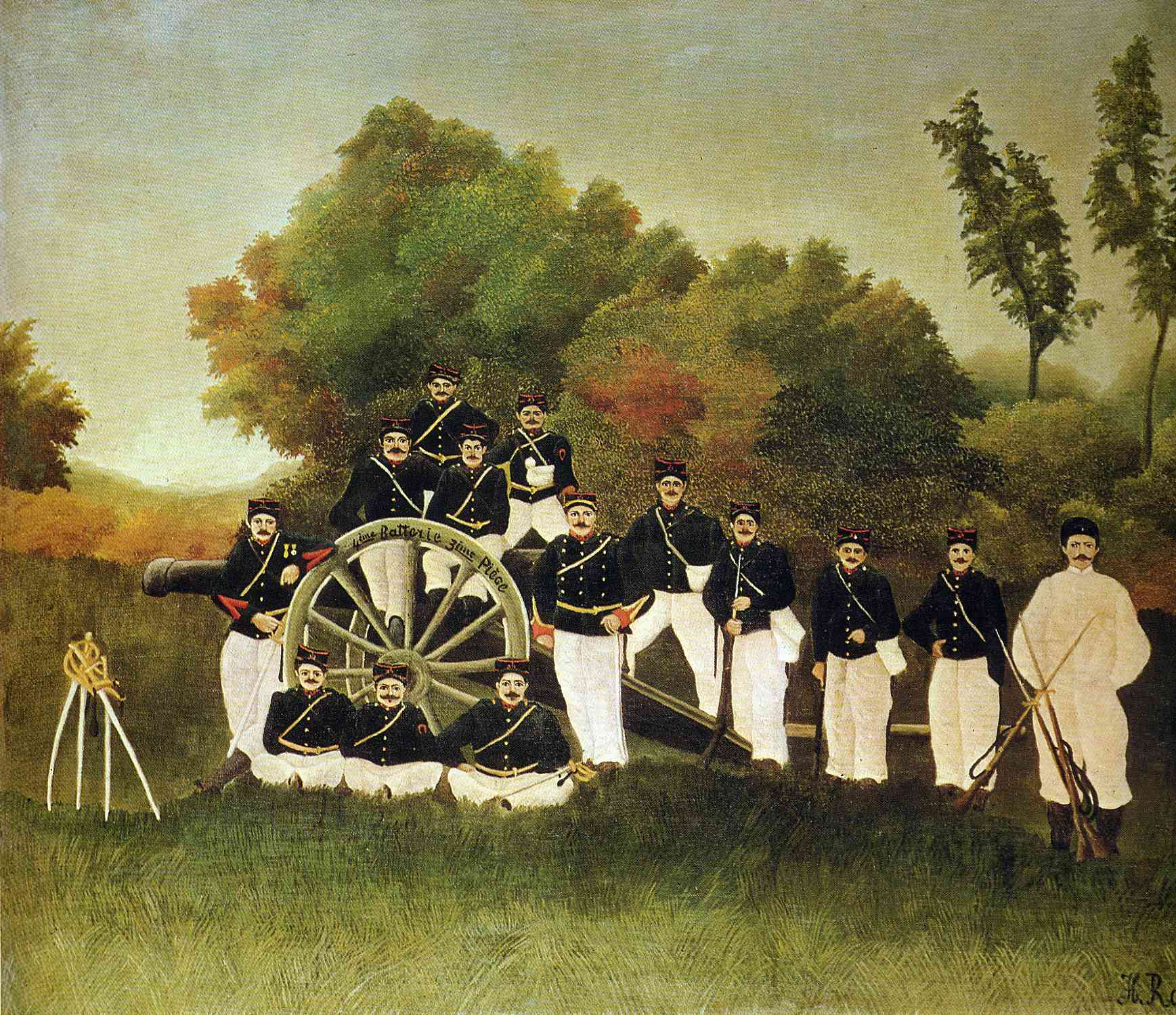 The Artillerymen, 1893