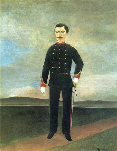 Marshal des Logis Frumence Biche of the 35th Artillery, 1893