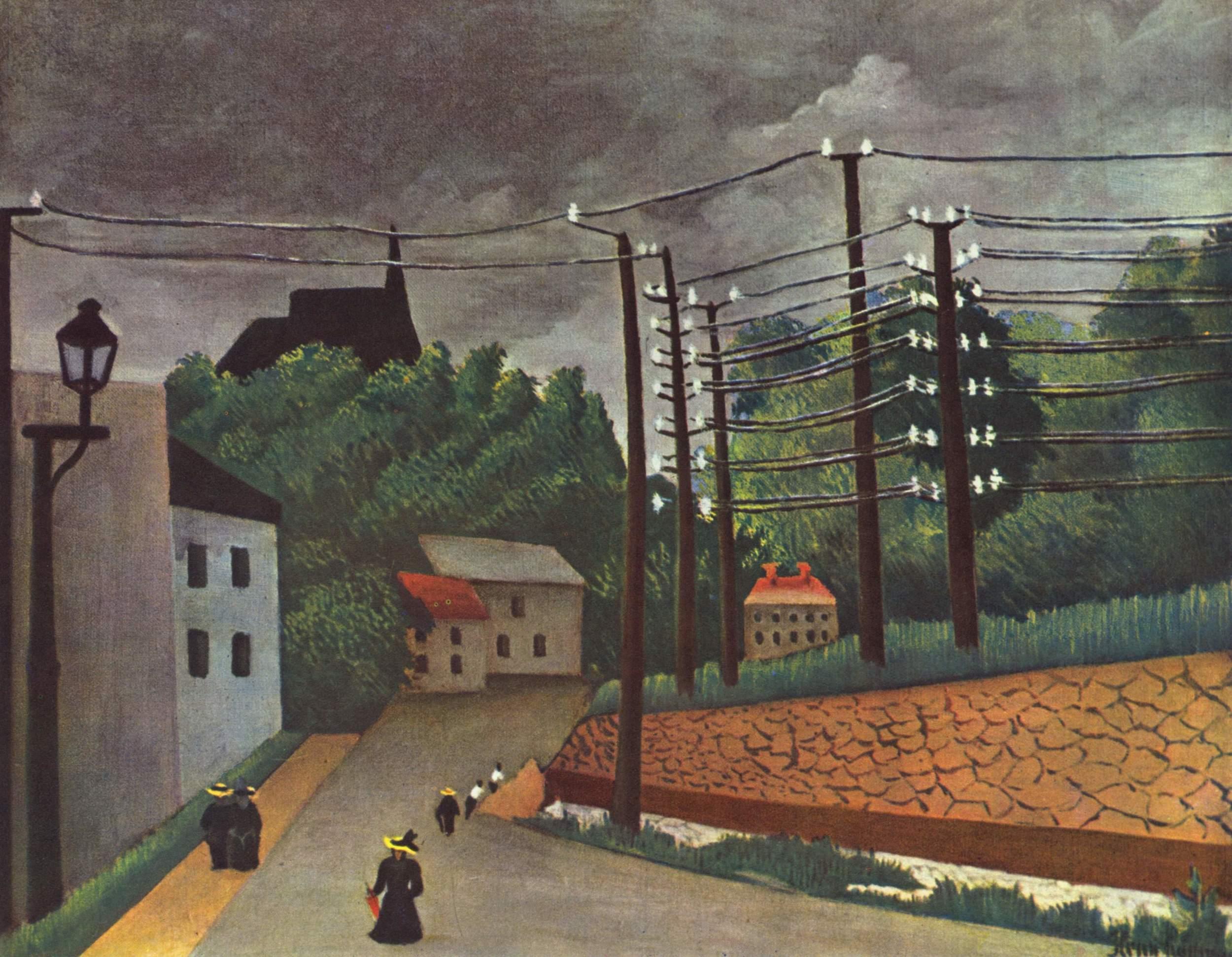 View of Malakoff (Hauts de Seine), 1903