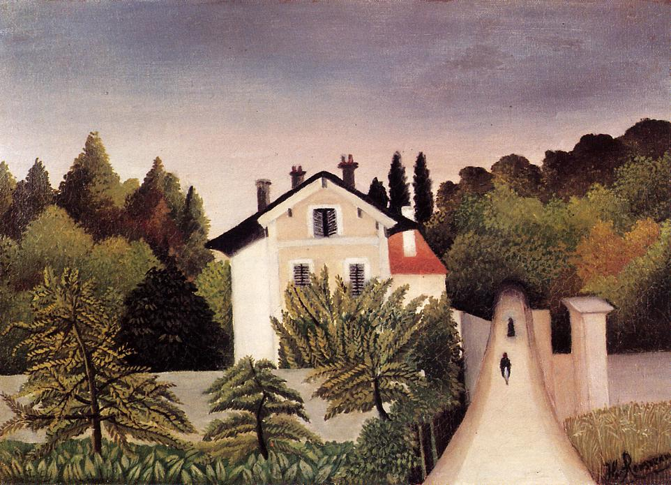 House on the Outskirts of Paris, 1902