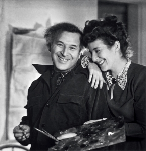 Marc and Bella Chagall.