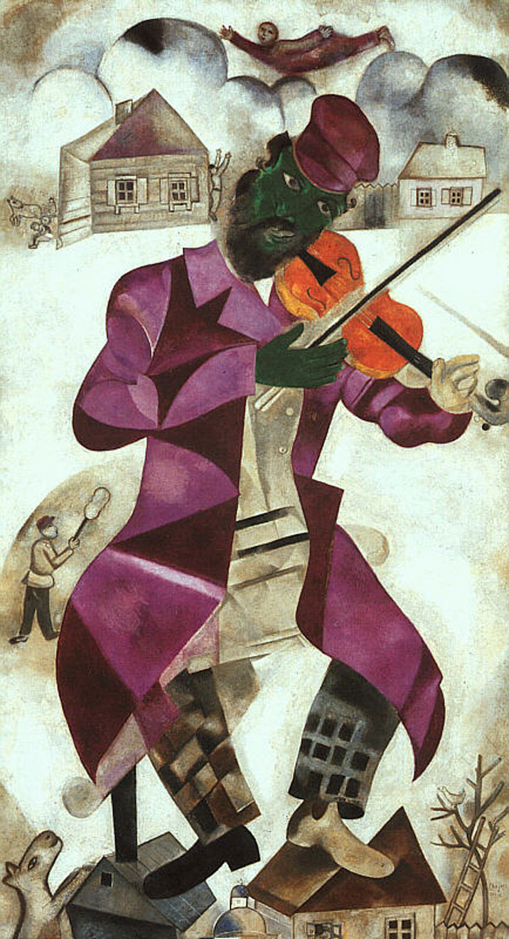 The Green Violinist, 1924