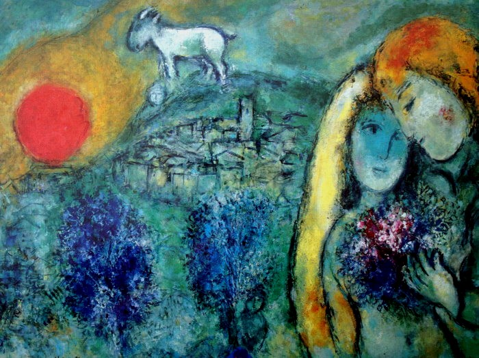 Lovers of Vence, 1957