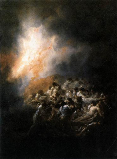 Fire at Night, 1794